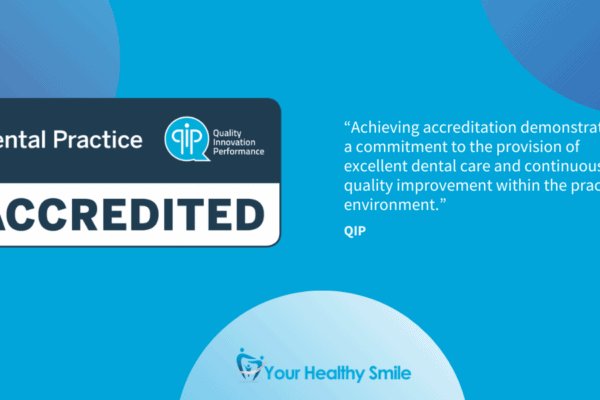 We Are A QIP Accredited Dental Practice